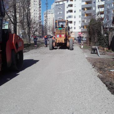 Поправке туцаничких коловоза у граду приградским насељима