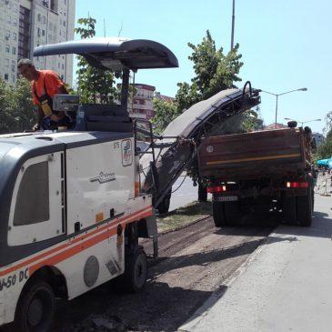 Наставак санација бициклистичке стазе на Булевару краља Петра I