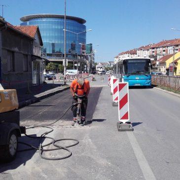 Поправка аутобуских стајалишта