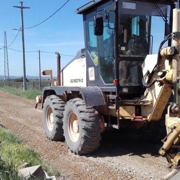 Поправка коловоза туцаником и струганим асфалтом