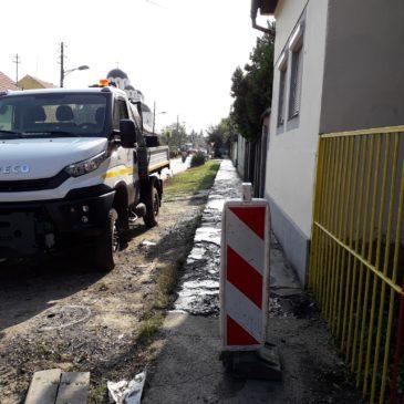 Санација коловоза  у улици Ћирила и Методија и тротоара у Косте Шокице