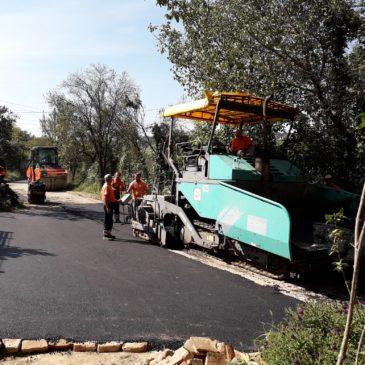 Санација Староиришког пута и улица у Сремској Каменици