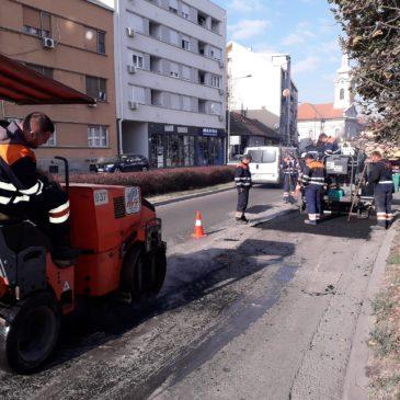 Радови у Улици Јована Суботића