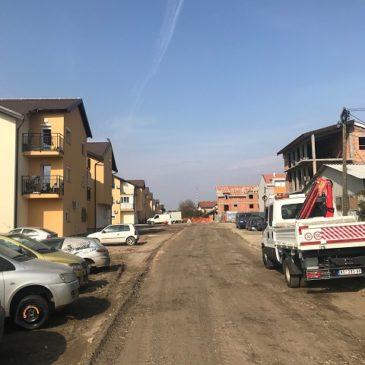 Нови асфалт у Улици Десанке Максимовић