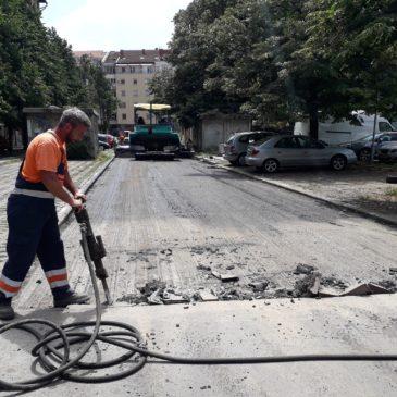 Радови у Тургењевој улици