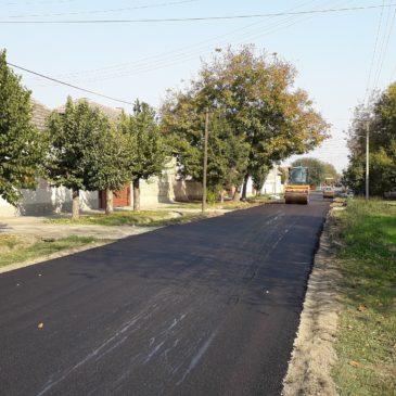 Наставак асфалтирања у Каћу